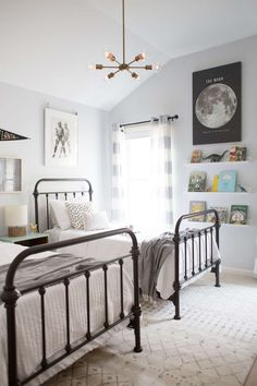 star wars ideas for a boy room - love this since it looks like an easy transition from nursery!
