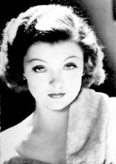 estelle getty - Oh my. Thats Sophia Petrillo. No, no Myrna Loy. ??...