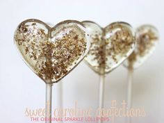 ♥ Sweet Caroline Confections offers The Original Sparkle Lollipops ☆ This listing is for 6 lollipops. Sweet Caroline, Wedding Favors For Guests, Wedding Gifts, Wedding Ideas, Wedding Snacks, Wedding Cards, Wedding Stuff, Cocoa, Candy Art