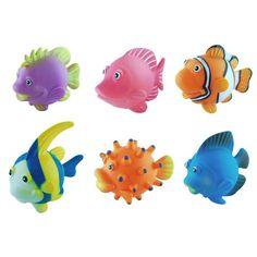 Tropical Fish Water Squirt Bath Toys