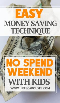 No Spend Weekend Wit