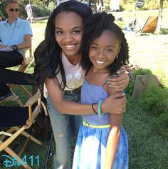 Skai Jackson And China Anne McClain Together July 12, 2013