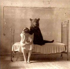 I can't 'bear' the thought of losing you.
