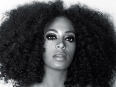 Solange Knowles staged a protest on Sunday at Borough Hall. Credit: solangemusic.com