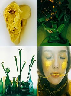 I´ve been a huge fan of celebrated trend-forecaster Li Edelkoort and her work, ever since I was lucky enough to visit one of her unforgetta. Green And Orange, Shades Of Green, Colour Story, 2016 Trends, Halloween Town, Fashion Story, Color Photography, Color Trends, Color Inspiration