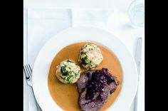 """A delicious Czech dish """"Svíčková"""" Steak, Food Photography, Dishes, Recipes, Czech Republic, Tablewares, Recipies, Steaks, Ripped Recipes"""