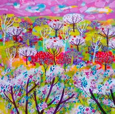 Cherry Trees - Claire West ...