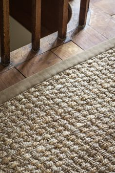 Alternative Flooring's Big Jute Panama Brioche. Design yours with Make Me A Rug online service