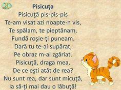 Romanian Language, Kids Poems, School Games, Best Teacher, Kids Education, Toddler Activities, Kids And Parenting, Kindergarten, Preschool