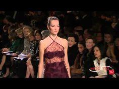 OSCAR DE LA RENTA FALL WINTER 2015 2016 NEW YORK FASHION SHOW HD - YouTube