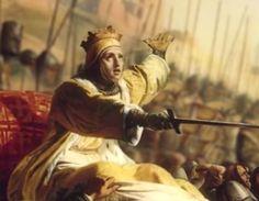 Na Batalha de Montgisard, Balduíno IV liderou o exército, montando a cavalo...não numa liteira.