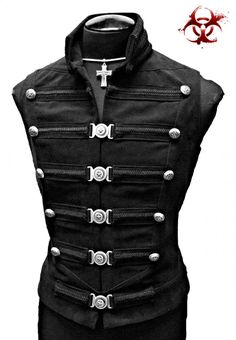 Shrine Gothic Vampire Dominion Weste Jacke Victorian Pirat Rock Goth Steampunk - possessed but well dressed - Style Steampunk, Gothic Steampunk, Steampunk Clothing, Steampunk Fashion, Steampunk Couture, Renaissance Clothing, Gothic Clothing, Men's Clothing, Boutique Clothing