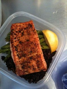 Barbecue salmon and asparagus | Anthony Leberto Catering