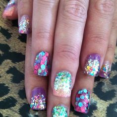 These are definitely a contender for my birthday nails!