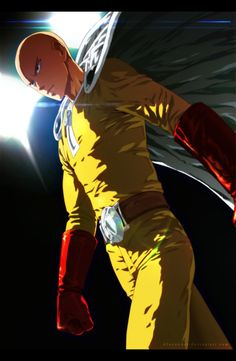Saitama / One Punch Man Wizyakuza Anime, Saitama One Punch Man, One Punch Man Manga, Male Cosplay, Man Wallpaper, Anime One, Otaku Anime, Naruto, Memes Br