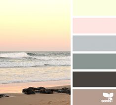 { color escape } color palette from Design Seeds image via: Design Seeds, Colour Pallette, Colour Schemes, Color Combos, Color Harmony, Color Balance, Color Palette Challenge, Calming Colors, Color Swatches