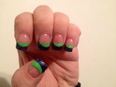Seattle seahawks nails