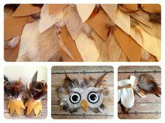 DIY owl costume... No sew :)