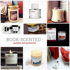 Book smell is back - these perfumes and candles offer scents of leather-bound books, vintage paperbacks, and old libraries.