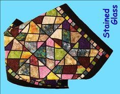 Stained Glass Quilt Patterns | Saturday, July 21, 10:00am - 2:00pm……………….$24.00