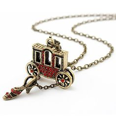 Magic Princess House Fashion Long Red Crystal Sweater Necklace Amazon com Red Queen Gilded