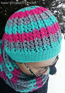 Cables & Stripes Hatf ~ free pattern ᛡ