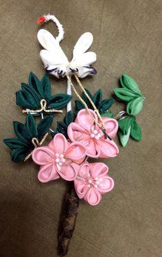 鶴と松竹梅 New years Ornament