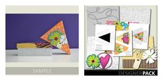 Free Digital Download for scrapbooking or card making- including a free template for pie boxes!