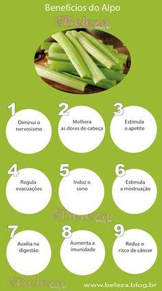Benefícios do Aipo/Salsão