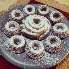 Ciambelline di quinoa allo yogurt di soia Gluten Free Recipes, Doughnut, Muffin, Vegetarian, Healthy, Desserts, Food, Vegans, Glutenfree