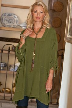 Easy Style-savvy, soft and drapey viscose top