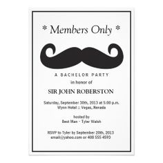 >>>best recommended          Members Only Bachelor Party Custom Announcements           Members Only Bachelor Party Custom Announcements so please read the important details before your purchasing anyway here is the best buyShopping          Members Only Bachelor Party Custom Announcements ...Cleck Hot Deals >>> http://www.zazzle.com/members_only_bachelor_party_custom_announcements-161598744989990325?rf=238627982471231924&zbar=1&tc=terrest