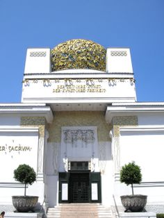 The Secession building, - Vienna 1897-98 / art design Joseph Maria Olbrich