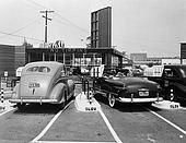 Cars at Automated Drive-in Restaurant  July 10, 1948
