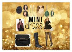 """""""Mini Dress"""" by kindan3rdy22 on Polyvore featuring Forever 21, Avenue, Journee Collection, MICHAEL Michael Kors, Napier, Evie & Emma, Kate Spade and plus size dresses"""