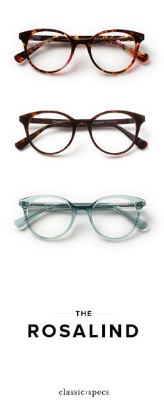 Rosalind in Tropical Storm - Classic Specs. Lunettes ... 9396ce8c05ee