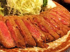 #渋谷#牛カツ#牛カツもと村 #美味い#肉#最後の#客 ご飯お代わり頼んだら 大盛り×2ぐらいに盛られて 死にそうになった。笑 おいしかった。