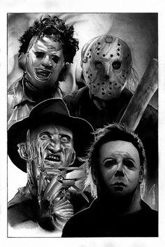 Horror Icons - Randy Siplon