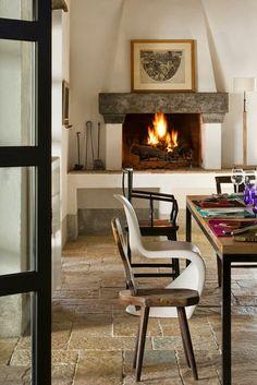 Virlova Interiorismo: [Interior] Serenidad rústica en la Toscana