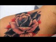 new school tattoo rose - Google zoeken