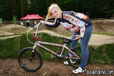 BMX Elite Women Tiffany Bontorno Bike Check
