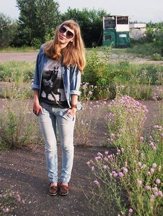 Denim Kocca - Here comes the sun (by Jane S) http://lookbook.nu/look/2131801-here-comes-the-sun