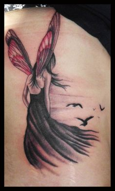 Fairy Tattoo Design More