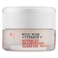 Korres Wild Rose Overnight Facial- Brightens up those dark spots and the smell is so wonderful and relaxing. $48