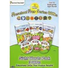Preschool Prep Series: Meet The Sight Words Box Set (Full Frame)