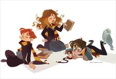 Uploaded by Find images and videos about harry potter, hogwarts and hermione granger on We Heart It - the app to get lost in what you love. Fanart Harry Potter, Harry Potter Universe, Arte Do Harry Potter, Cute Harry Potter, Harry Potter Drawings, Harry Potter Characters, Harry Potter Books, Harry Potter Fandom, Harry Potter World