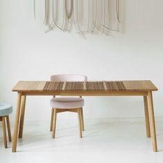 Ausziehbarer Tisch von Lignum Arts – blickfang Designshop