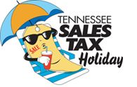 2014 Tennessee Sales Tax Holiday - August 1-3 - The STate of Tennessee's Annual Sales Tax Holiday is held every year on the first Friday in August and ends the following Sunday night!