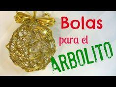 Decora tu Árbol de Navidad, Cómo hacer Adornos para el Árbol de Navidad - YouTube
