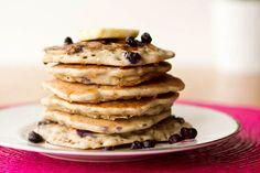 Vegan & Gluten-Free Vanilla Blueberry Buckwheat Pancakes — Oh She Glows